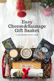 cheese and sausage gift basket
