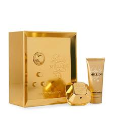 paco rabanne lady million gift set edp 80ml