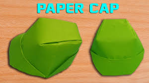 How To Make Hat With Chart Paper How To Make A Paper Cap Diy Origami Hat Making Simple And Easy