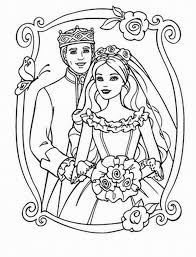 Printable 2014 Free Wedding Coloring Pages To Print