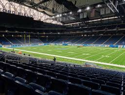 Ford Field Section 110 Seat Views Seatgeek