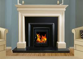 marble fireplace in ivory pearl wexfordivorypearl