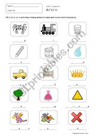 Handwriting worksheet maker make custom handwriting & phonics worksheets type student name, small sentence or paragraph and watch a beautiful dot trace or hollow letter handwriting worksheet appear before your eyes. Blend Consonants Dr Cr Tr Phonics Worksheets Esl Worksheet By Hien Phan