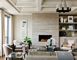 example of a large transitional formal and open concept um tone wood floor living room design