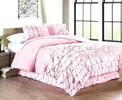 ruffle bedding sets ruffle bedding collection 3 piece waterfall ruffle comforter set queen pink pink ruffle