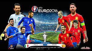 MATCH ITALY vs SPAIN EURO 2016 27.06 ...