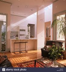 Open Plan Living Room Open Plan Living Room Kitchen Stock Photos Open Plan Living Room