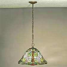 vintage stained glass hanging lamp vintage stained glass hanging lamp vintage gvine stained glass ceiling light