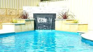 Swimming Pool Waterfall Designs