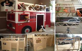 how to build a fire truck bunk bed home design garden architecture blog