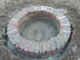 how to build a sy brick fire pit