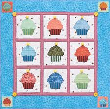 Cupcakes Quilt from C&T Publishing | FaveCrafts.com & Cupcakes Quilt Adamdwight.com
