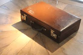 antique briefcases suitcases circa 1920s english writing case in leather