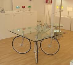 table recycled materials. Bike-wheel-table Table Recycled Materials F