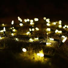 solar string lights 50 led warm white clear mini fairy outdoor garden solar string outdoor lighting wedding decoration round string lights low