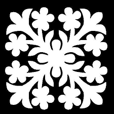129 best Hawaiian quilts images on Pinterest | Patterns, Colour ... & tropical quilts | Hawaiian Quilt Square Stencil by AnLDesigns on Etsy Adamdwight.com