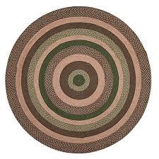 barrington braided rug round 6 foot