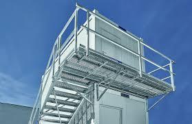 Für eine größere ansicht das produktbild anklicken. Mauderer Containertreppen Anlagen Mit Leichtigkeit Montiert Mauderer Alutechnik
