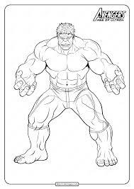 Retrouve avec moi tous les dessins de spiderman, batman et ainsi ceux de superman ! Marvel The Avengers Hulk Pdf Coloring Pages