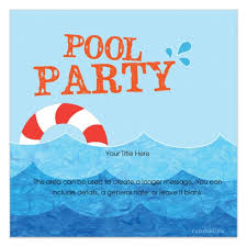 diy party invitations templates free free pool party invitation template pool party invitation template