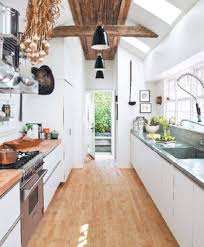 Galley Kitchen Designs With White Cabinets