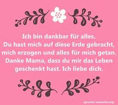 Mama Danke Sprüche Schöne Texte Für Alles Mama
