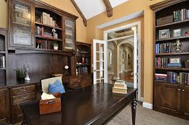 office bookcase with doors. bookcase with glass doors home office traditional book shelves carpeting dark