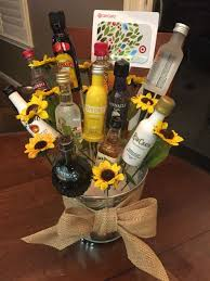 mini liquor gift baskets photo 1