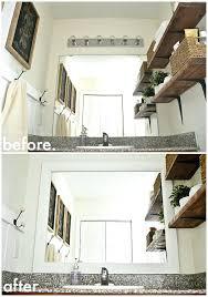 framed bathroom mirrors diy. Framed Bathroom Mirrors Diy The Easy Way See How To Frame Your . I