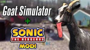 goat simulator pc sonic the hedgehog mod super form