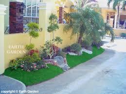 front yard simple landscape design