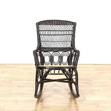 black wicker rocking chairs excellent rattan cane seat chair resin a14