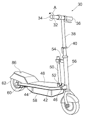 patent us20020170763 electric scooter selectable speed patent drawing