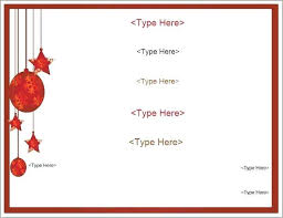 Sample Menu Templates Word Pad Christmas Template Free