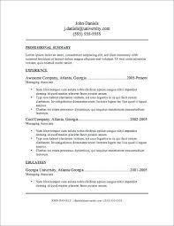 Business Resumes Templates Unique Resume Templates Ideas On Resume ...