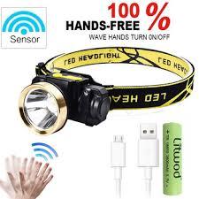 Litwod z2090 10W Body Motion Sensor Headlamp LED Mini ...
