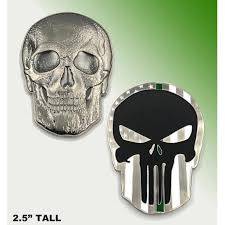 Waterproof, removable, transfer app tape will be applied on the. Punisher Skull Thin Border Patrol Green Line Challenge Coin 2 5 Quot Coin Walmart Com Walmart Com
