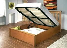 Queen Beds With Storage Headboards Platform Beds With Storage ...