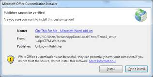 Cite For Me Download The Microsoft Word Add On Cite This For Me