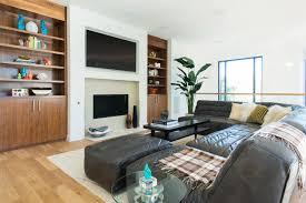 Living Room Shelves Design 12 Living Room Ideas For A Grey Sectional Hgtvs Decorating