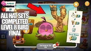 Angry Birds 2 | Complete Hat Sets & Slingshot Level 51 - YouTube