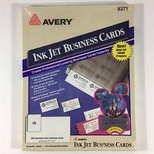 250 Avery Business Cards Ink Jet 8377 Standard 2 X 3 1 2 Gray Ebay