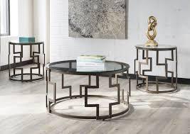 frostine 3 piece coffee table set