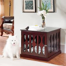 fancy dog crates furniture. #dog Crate Furniture, End Table, #decorative Dog Crates, Fancy Crates Furniture F