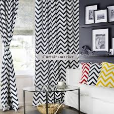 Full Size of Curtains: Navy Blued White Curtains Picture Inspirations  Cotton Printing Striped Chevron Cheap ...