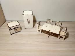 How to make miniature furniture Dollhouse Miniature Image Etsy Furniture For Dollhouse Hall Dollhouse Miniature Etsy