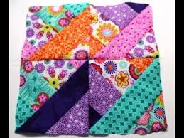How to sew #Quilt squares using Fabric Jelly Roll - Video two ~I ... & How to sew #Quilt squares using Fabric Jelly Roll - Video two ~I like Adamdwight.com