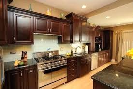 Granite Countertop Backsplash Gorgeous Uba Tuba Granite Countertops Granite T T Granite And Cherry Cabinets