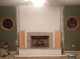 Tile Fireplace Makeover 9 Best Step By Step Fireplace Remodel Images On Pinterest
