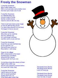Small Picture Frosty the Snowman Lyrics
